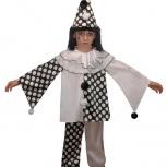 Карнавальный детский костюм пьеро, Новосибирск
