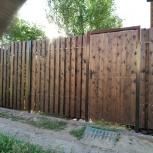Построим из бруса дом, баню, смонтируем забор.ворота, кровля., Новосибирск