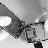 Замена кнопки home на iPhone Айфоне на выезде, Новосибирск
