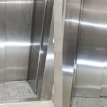 Восстановление лифтовых кабин,дверей,порталов из нержавеющей стали, Новосибирск