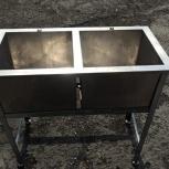 Продам ванну моечную двухсекционную ATESY, Новосибирск