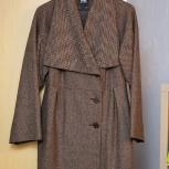 Пальто приталенное с поясом, 44-46р (s), Новосибирск