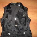 Сарафан-платье стильное  чёрное стрэйч 44-46 р, Новосибирск