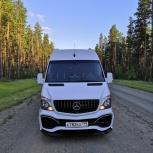 Заказ, аренда микроавтобуса Mercedes sprinter, Новосибирск