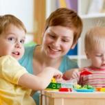 Няня - помощница для 2-х деток, Новосибирск