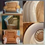 Реставрация и ремонт мебели из дерева (стул, стол, паркет и т.д.), Новосибирск