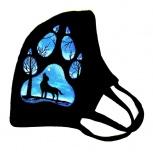 Защитные маски с ручной росписью, Новосибирск