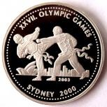 Гана 500 сика 2003 серебро «xxvii олимпийские игры» единоборства, Новосибирск