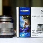 Объектив Olympus 45mm 1.8 (45 мм) с фильтром, по России, Новосибирск