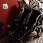 Продам коляску для двойни TFK Twist Duo, Новосибирск