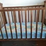 Продам кроватку детскую., Новосибирск