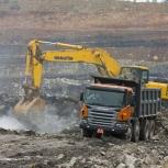 Щебень грунт Песок с доставкой, Новосибирск