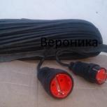 Удлинитель (провод на рамке) для зимы, Новосибирск