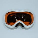 Очки снегоход/сноуборд Orange белые, Новосибирск