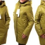 48-56р новое пальто-куртка на весну - осень, Новосибирск