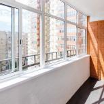 """Остекление и отделка балконов и лоджии """"под ключ"""", Новосибирск"""