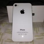 iPhone 4S 16Gb white, Новосибирск