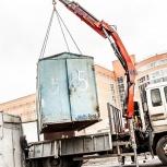 Перевозка металлических гаражей, Новосибирск