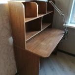 Продам письменный стол с полкой для книг, Новосибирск