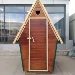 Продам деревянный туалет, Новосибирск