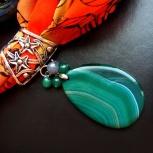 Кулоны для шейного платка или шарфа, Новосибирск