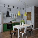 Помогу в разработке дизайна интерьера вашей квартиры /дома, Новосибирск
