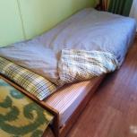 Кровать с матрасом односпальная, Новосибирск