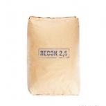 Песок сухой сеяный в мешках 25 кг для пескоструя, Новосибирск