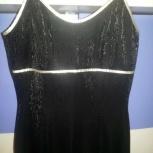 Продам шикарное платье с разрезом 46-48, Новосибирск