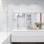 Дизайн-проект интерьера санузла или ванной, Новосибирск