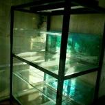 Стойка с аквариумами 2х200л, Новосибирск