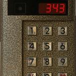 Установка и ремонт видеодомофонов, домофонов, СКУД, домофон, Новосибирск
