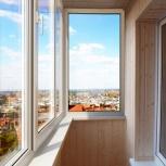 Отделка балконов и лоджий с утеплением, Новосибирск