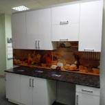Кухонный гарнитур «Постформинг пластик белый», Новосибирск