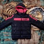 Двухсторонняя демисезонная куртка для мальчика. Размер 140., Новосибирск