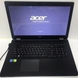 """Ноутбук с экраном 17,3"""" Acer Aspire ES1-731G, Новосибирск"""