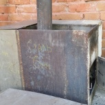 Продам  печь б/у 700х500х600, Новосибирск