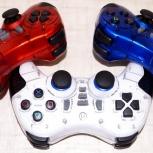 Новый без проводной геймпад PC, PlayStation 2, PlayStation 3. Гарантия, Новосибирск