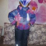 Зимний комбинезон на девочку, рост 110 см, Новосибирск