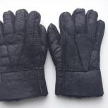 Перчатки мужские кожаные, Новосибирск