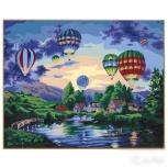 """Картина по номерам """"Воздушные шары"""" 40х50 см, Новосибирск"""