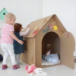 Продам детский картонный домик, Новосибирск