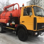 Прочистка канализации, услуги илососа, Новосибирск