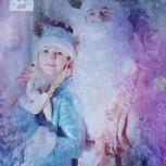 Новогоднее поздравление Деда Мороза и Снегурочки., Новосибирск