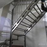 Изготовление лестниц на металлическом каркасе, Новосибирск