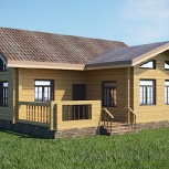 Проектирование деревянных домов,бань (бревно, брус, каркас и сип), Новосибирск