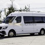 Аренда микроавтобуса Mercedes-Benz Sprinter Tourist с водителем, Новосибирск
