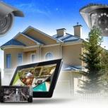 Установка видеонаблюдения, компьютерные сети, СКС, Новосибирск