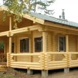 Строительство домов из оцилиндрованного бревна, Новосибирск
