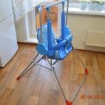 продам качели напольные детские малыш супер люкс, Новосибирск